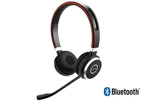 Jabra Evolve 65 UC Stereo Wireless Headset / Music Headphones