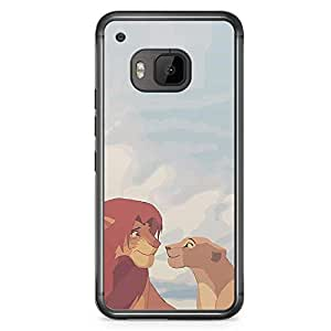 Loud Universe The Love of King HTC M9 Case the Lion King HTC M9 Cover with Transparent Edges
