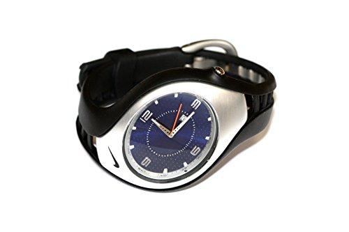 53708dabab66 Mens Nike Swift 3H Sport Watch Black Blue WR0093