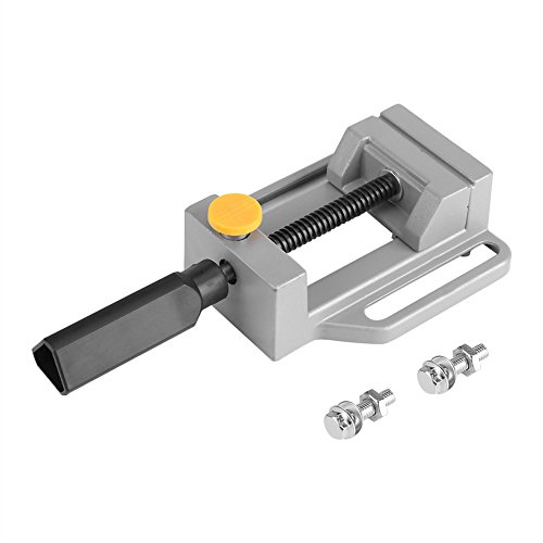 Mini Flat Clamp Table Aluminium Alloy Quick Release Jaw Bench Vice DIY Engraving Carving Tool