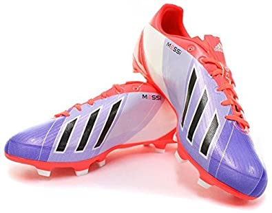 save off 17bd1 19580 adidas New Mens F30 TRX FG Messi Chaussures de Football G95001 Rouge Bleu  Taille UK -