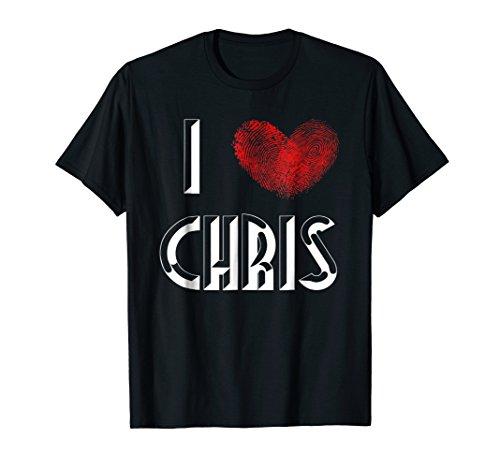 (I Love Chris T-Shirt)