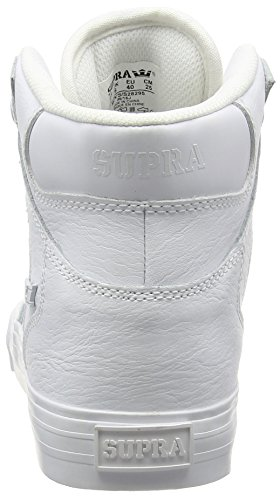 sale cost Supra Men's Vaider Trainers White (White / White - Red Wwr) free shipping visit new sale find great 9hYax