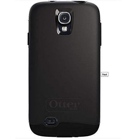OtterBox Symmetry - Funda para Samsung Galaxy S4, negro