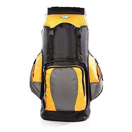 Pureed Rucksack Sport Outdoor Freizeit Camping Wearable Mode Wandern Stylisch Bergsteigen Tasche (Farbe   Gelb, Größe   One Größe)