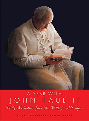 A Year with John Paul II: Daily Meditations from His Writings and Prayers cover