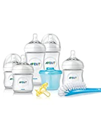Philips Avent Natural Newborn Baby Bottle Starter Set, SCD296/02 BOBEBE Online Baby Store From New York to Miami and Los Angeles