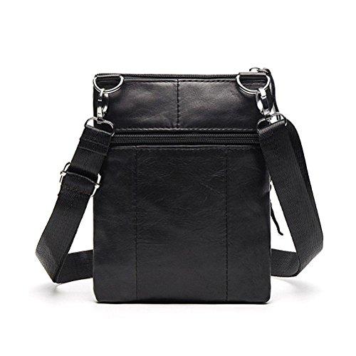4a101a05262ef Kleine Messenger Bags Männer Tasche Aus Echtem Leder Designer Crossbody  Tasche Schulter Casual Zipper 701 ...