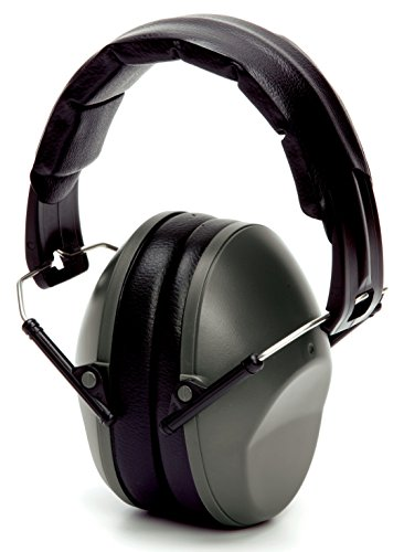 Pyramex PM9010 22dB NRR Hearing Protection Low Profile Ear Muff, (Pyramex Hearing Protection)