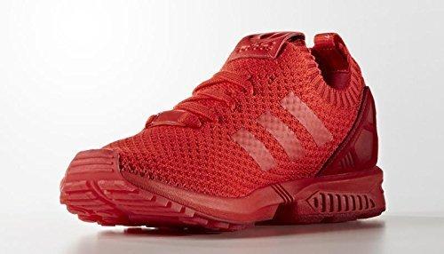 adidas ZX Flux Primeknit Homme Baskets Rouge s76497