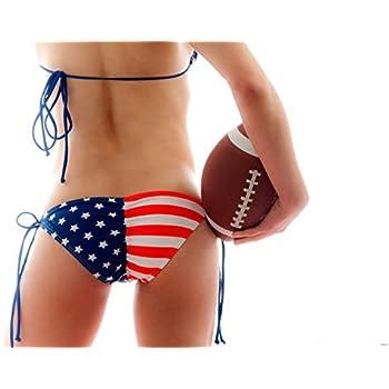 American Football Hot Butt Sexy Ass Panties 32x24 Print Poster