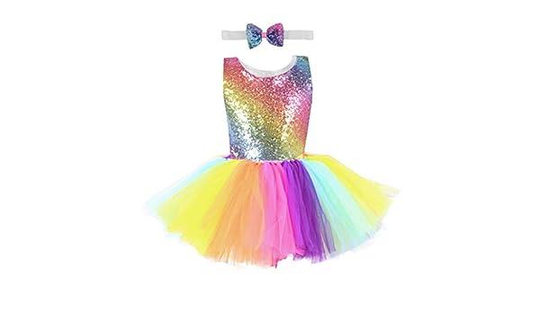 DESIBA - Falda de Tul Multicolor para niña, niña, Multicolor, 10T ...
