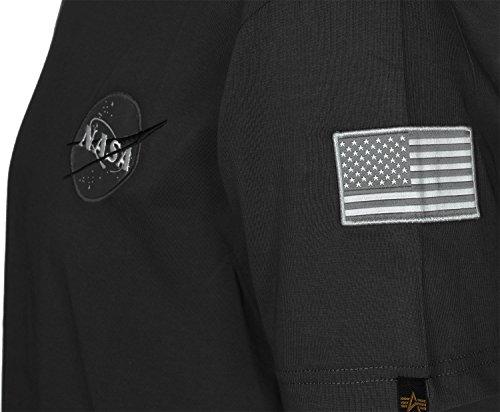 Homme Industries shirt Black T Hauts Space Alpha Shuttle I1xwd6x5