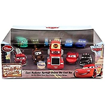 Amazon Com Disney Cars 1 43 Diecast Car 11 Pack Radiator
