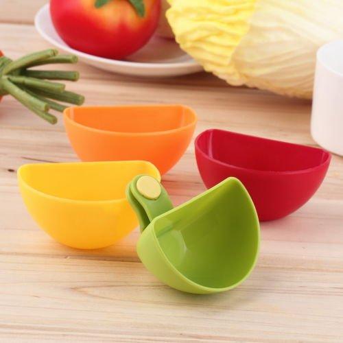 Jam Saucer (DatConShop(TM) Assorted Salad Sauce Ketchup Jam Dip Clip Cup Bowl Saucer Tableware Kitchen)