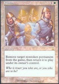 Magic: the Gathering - Flicker - Urza's Destiny