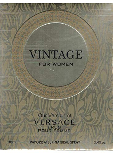Inspired By Versace (VINTAGE,3.4 Fluid Ounce Eau de Parfum Spray for Women, Perfect Gift)