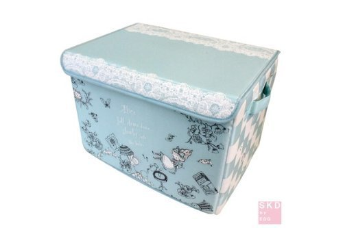 Shinzi Katoh Organiser Foldable Storage Box: Alice in Wonderland Design by Shinzi Katoh BX1002