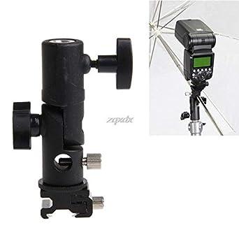 Soporte giratorio para paraguas, soporte de luz tipo E para cámara ...