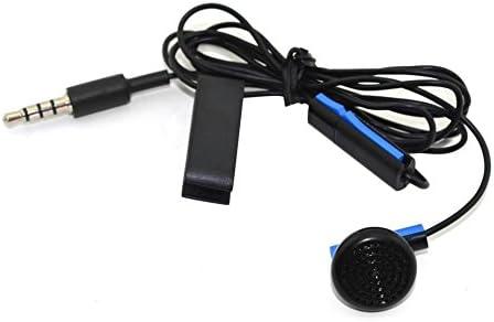Reemplazo del Auricular del regulador del Joystick de los Auriculares del Juego para Sony para PS4 para Playstation 4 con el micrófono con el Clip del Auricular: Amazon.es: Electrónica