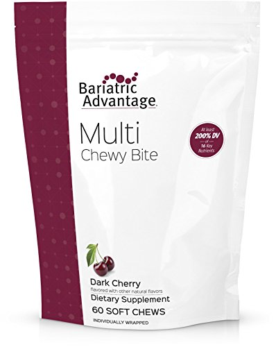 Bariatric Advantage - Multi Chewy Bite - Dark Cherry, 60 count