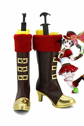 Hou Van Het Leven! Hou Van Live Happy Valentines Day! Yazawa Nico Cosplay Schoenen Laarzen Op Maat Gemaakt