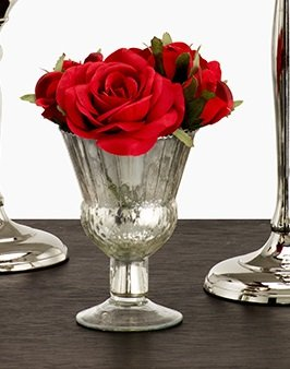 Coupe Antique (Vintage Inspired Antique Silver Coupes, Set of 6)