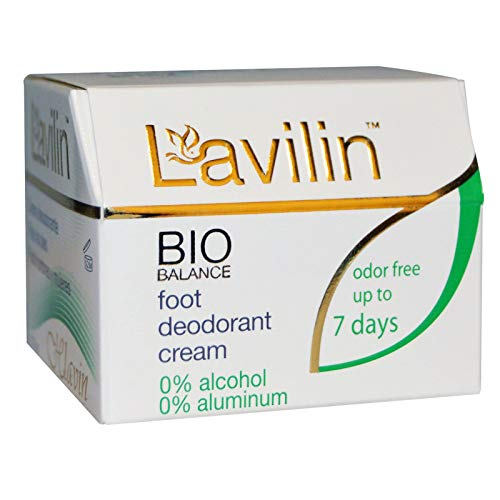 - Lavilin Foot Care Award Winning Foot Deodorant Cream, 12.5 Grams