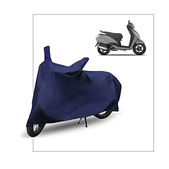Fabtec Scooty/Scooter Cover for Tvs Jupiter Scooty/Scooter Cover (Blue)