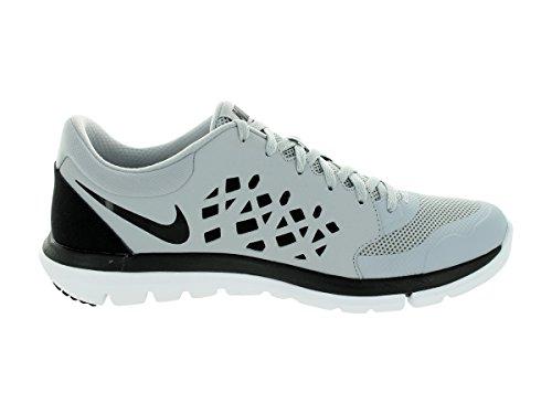 Nike Flex Experience RN 4 Laufschuh Wolf Grau / Schwarz / Weiß