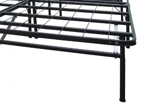 BioPEDIC Infiniflex Adjustable Mattress Foundation and Bed Frame, California King, Black