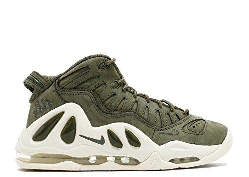 Nike Mens Air Max Uptempo 97 Urban Haze-white Suede Urban Haze / Urban Haze - Wit