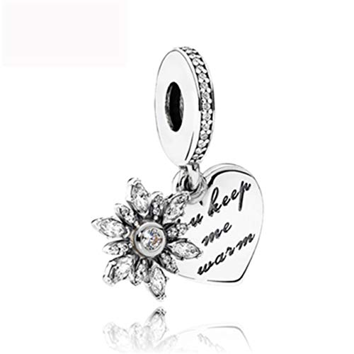 (Fashbag Bead Charms for Jewelry Making,1Pc Silver Clover Happy Birthday Family Life Tree Charms Fit Original Bracelet DIY Jewelry Gifts N178 A565(1))