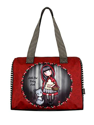 Bag Coated Red Hood Riding Barrel Little TOX7A4wnq