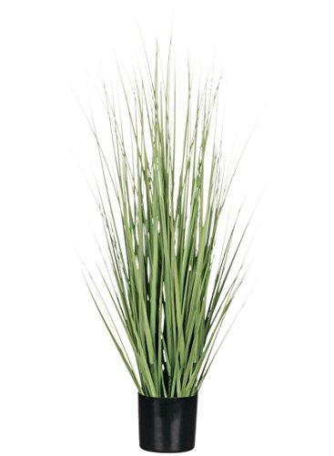 Pot Grass - Sullivans Artificial Potted Grass, 36 Inches High, Black Pot (0578POT)