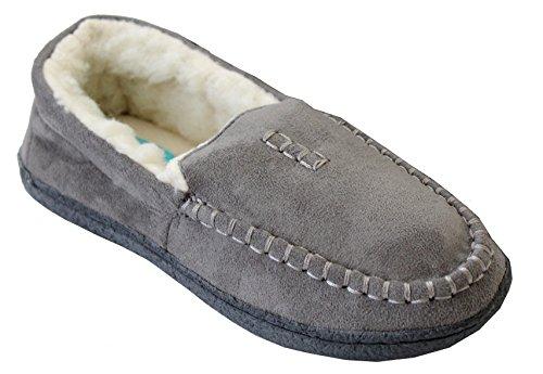 A&H Footwear - Zapatillas de estar por casa para mujer S gris
