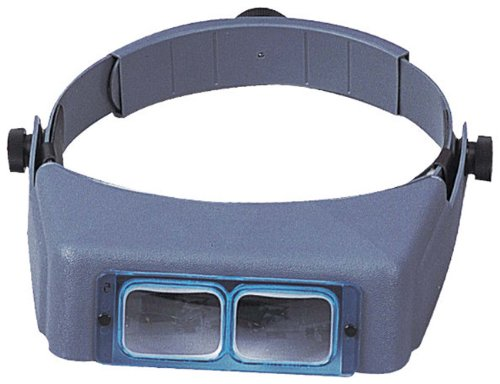 - Donegan OptiVISOR Head Worn Opitcal Glass Binocular Magnifier Without Lens