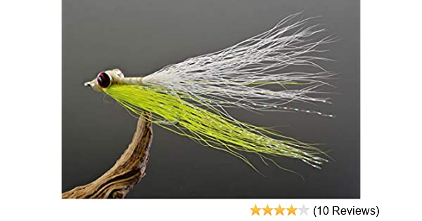 CRAZY CHARLIE WHITE x 6  Saltwater fly fishing flies #4