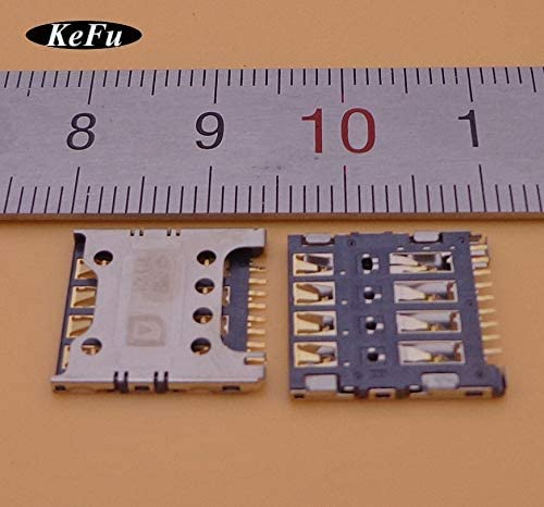 Generic 50XSim Card Reader Tray Slot Socket Micro Connector Holder Socket for LG G2 E980 E988 F320 F240 F240L F240S Replacement
