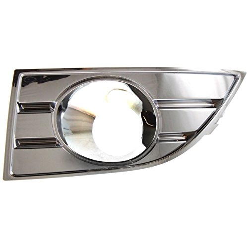 - DAT AUTO PARTS Fog Light Trim Replacement for 2008-2009 Ford Taurus Chrome Plastic Left Driver Side FO1038109