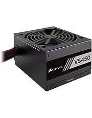 Corsair VS450 - Fuente de alimentación (450 Watts, PFC Activo, 80 Plus) Color Negro CP-9020170-EU