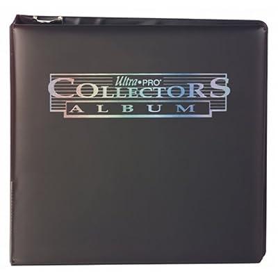 "Ultra Pro 3"" Black Collectors Album: Sports & Outdoors"