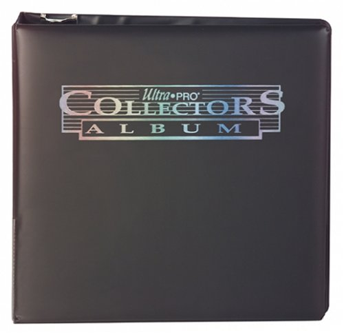 "Ultra Pro 3"" Black Collectors Album"