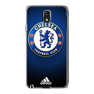 Scratch Resistant Hard Phone Case For Samsung Galaxy Note 3 With Custom Trendy Chelsea Fc Skin Casesbest88