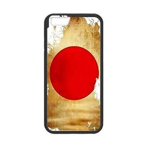 Japan Flag iPhone 6 4.7 Inch Cell Phone Case Black bkrt
