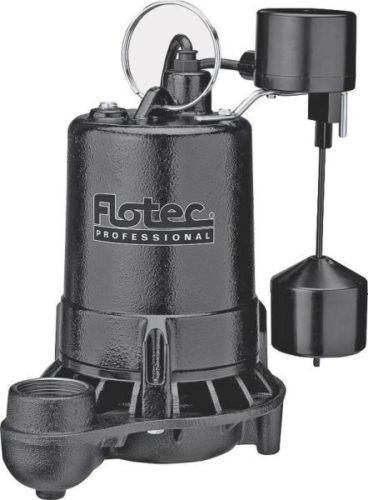 New Flotec E50vlt 1/2 Hp 80gpm Cast Iron Submersible Sump Pump Sale 8840894 - Flotec Submersible Sump Pump