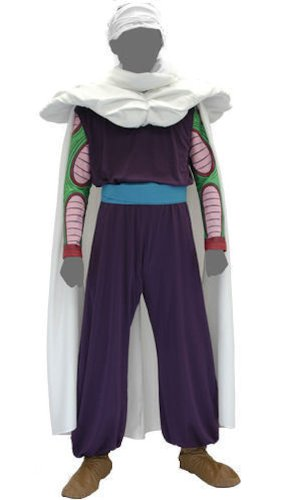 Dragon Ball Kai Piccolo Cosplay Costume Set Free Size