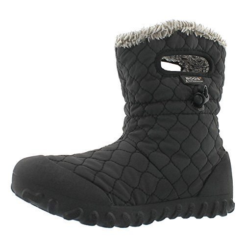 uilt Puff Snow Boot, Black, 9 M US (Bogs Waterproof Boots)