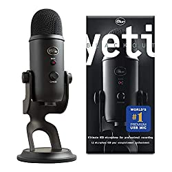 Yeti is the most advanced and versatile multi-pattern USB microphone available Anywhere. Combining three capsules and four different pattern settings, Yeti is the ultimate tool for creating amazing recordings, directly to your computer. With all new ...