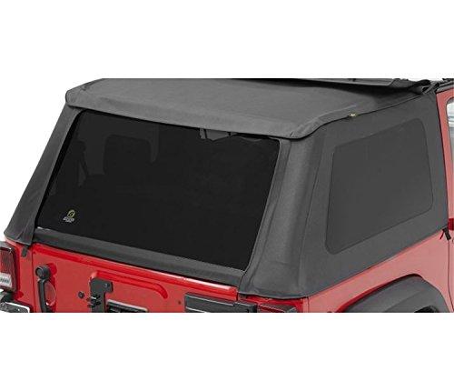 Bestop 58222-35 Black Diamond Tinted Window Kit for Trektop NX for2007-2018 Wrangler - Tinted Diamond Kit Window